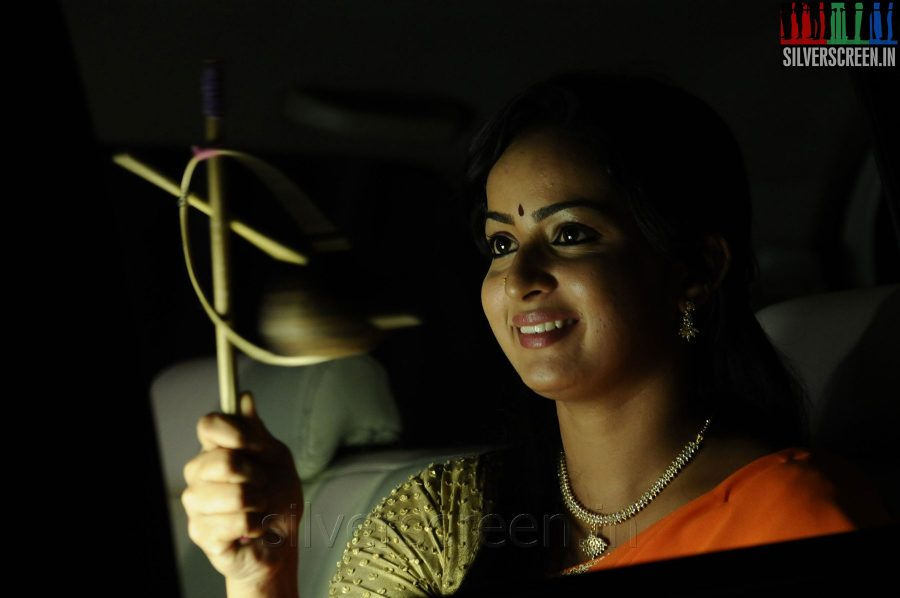 Actress Anusha in the Appuchi Gramam Movie Stills
