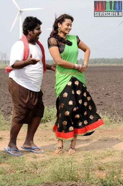 Actress Suja Varunee in the Appuchi Gramam Movie Stills