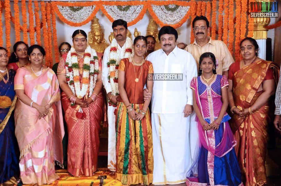 Anbalaya K Prabhakaran's Daughter Wedding Stills