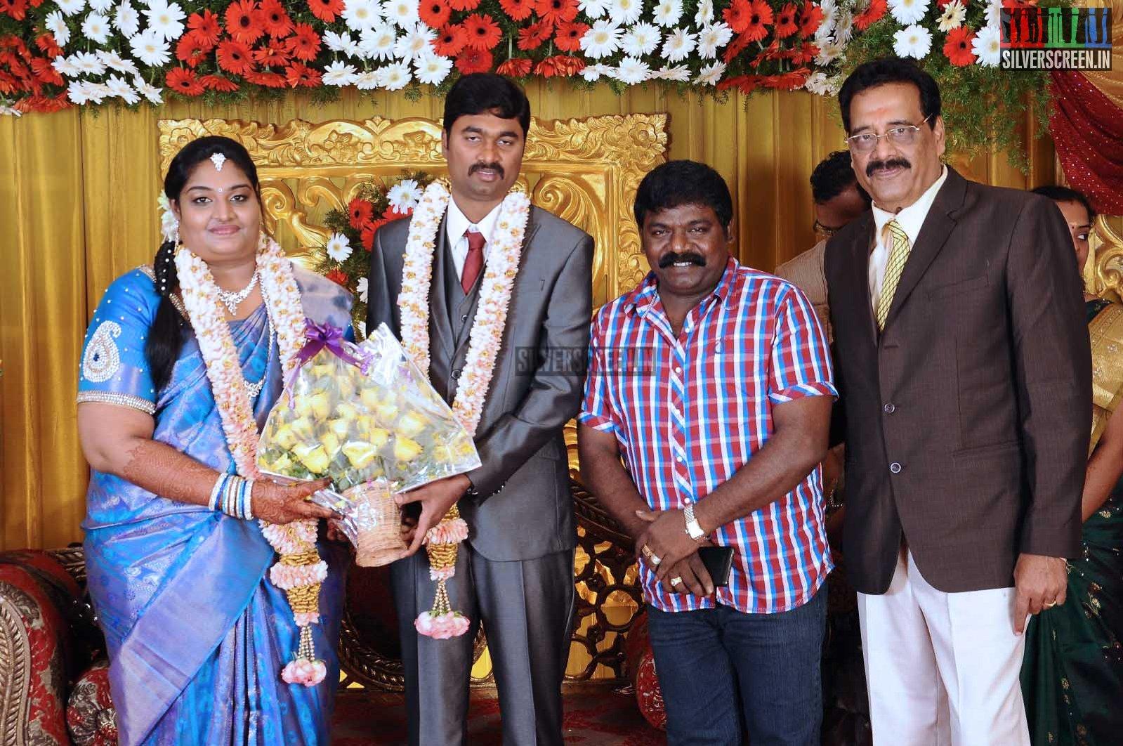 Celebrities at Anbalaya K Prabhakaran's Daughter Wedding Stills