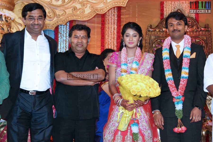 Celebrities attend TV Executive Family Wedding Stills
