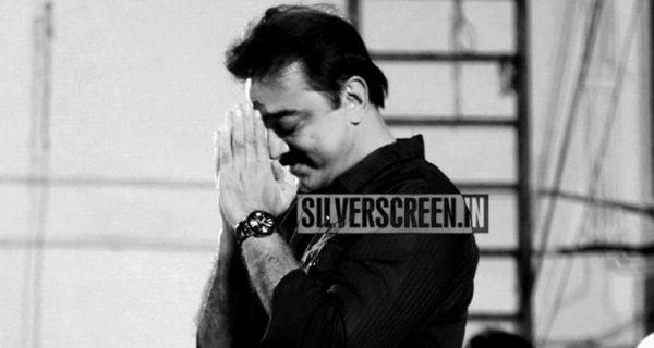 Kamal Haasan at Narpani Mandram Press Meet
