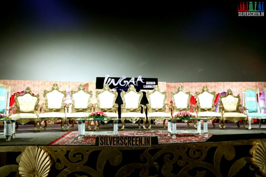 Lingaa the Movie Audio Launch