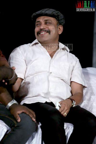 Actor Thambi Ramaiah at Nerungi Vaa Muthamidathe Press Meet Event