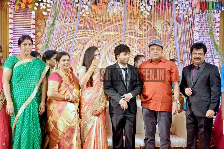 R Pandiarajan's Son Wedding Photos