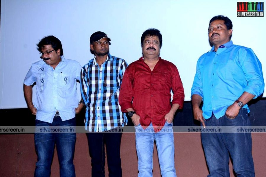 Actor R Pandiarajan at Aaivukoodam Team Meet