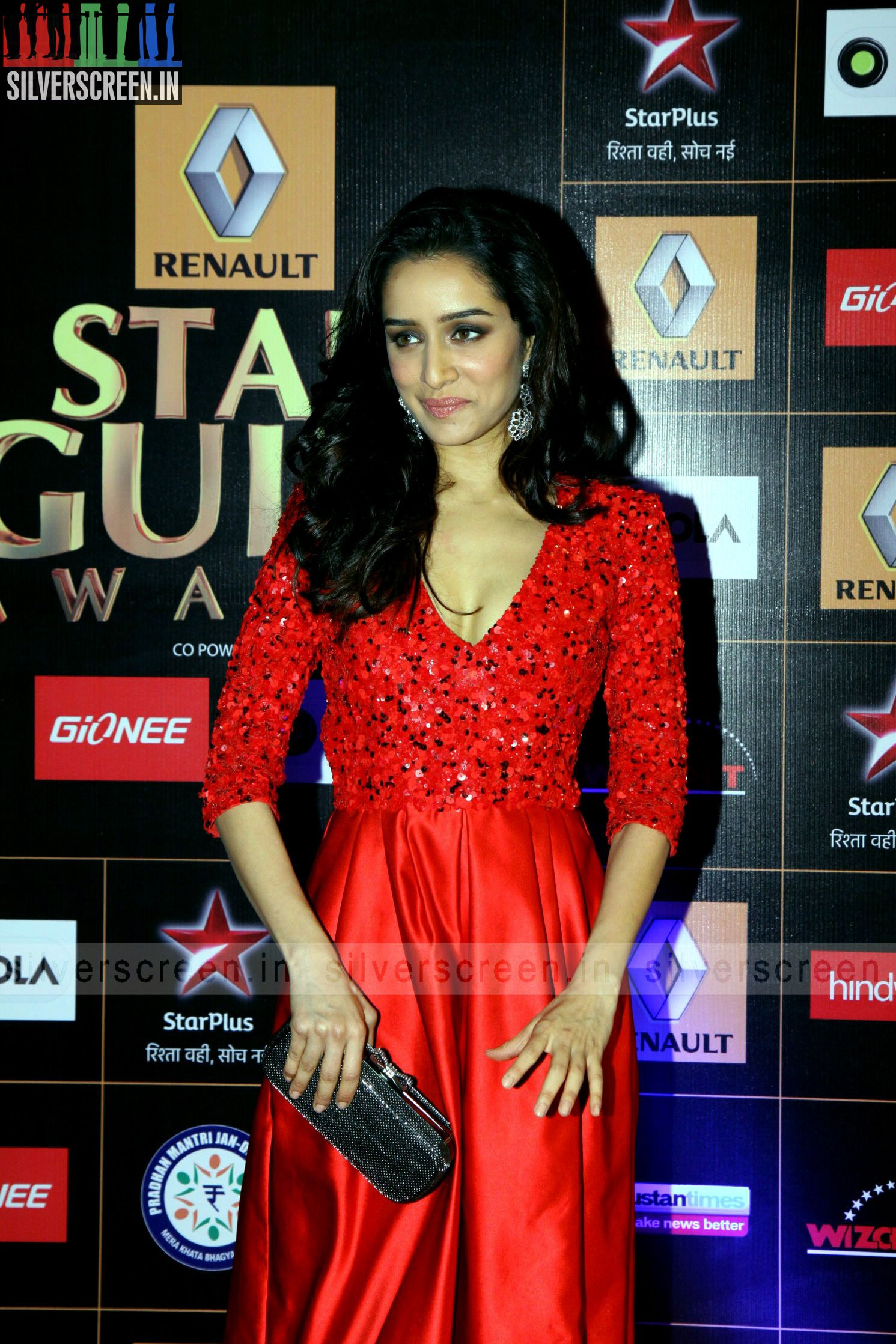 Actress Shraddha Kapoor at Star Guild Awards 2015 ...
