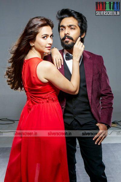 GV Prakash Kumar and Kirti Kharbanda in Bruce Lee Movie Stills