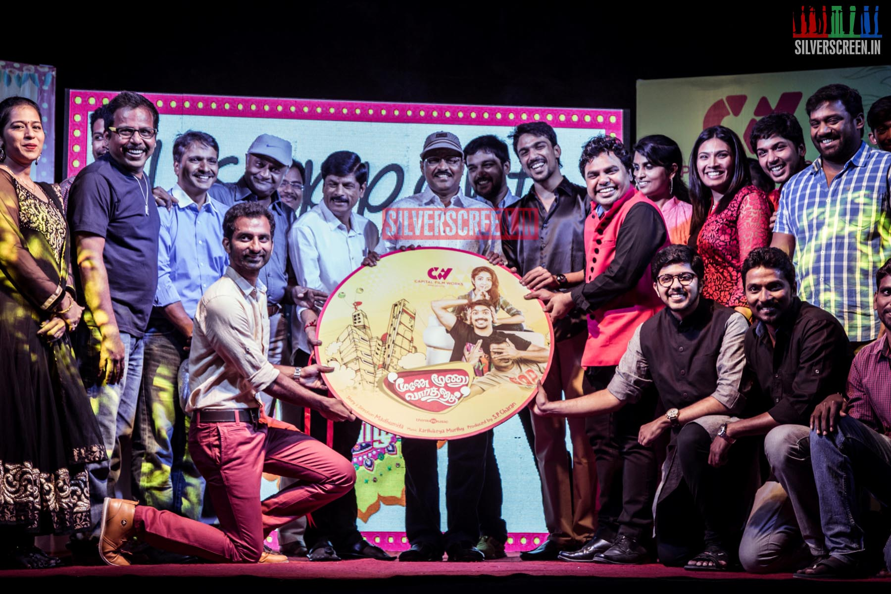 Moone Moonu Varthai Audio Launch Report Three Little Words
