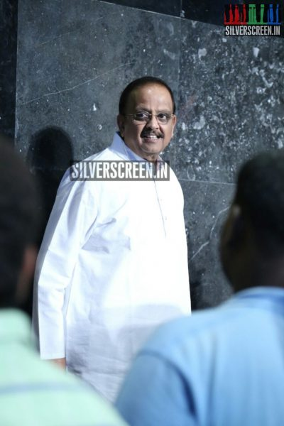 Singer SP Balasubrahmanyam at Moone Moone Vaarthai Single Track Launch Event