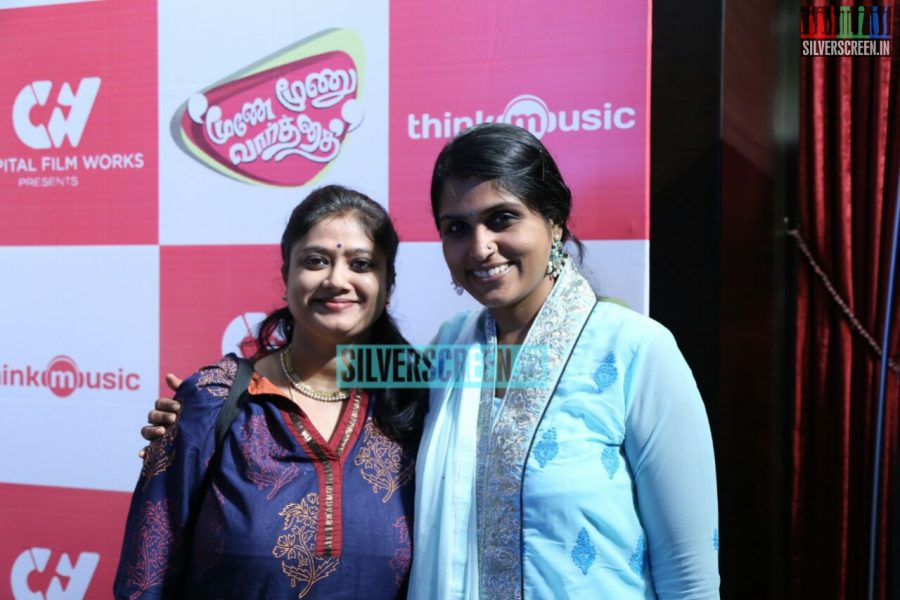 Moone Moone Vaarthai Single Track Launch Event