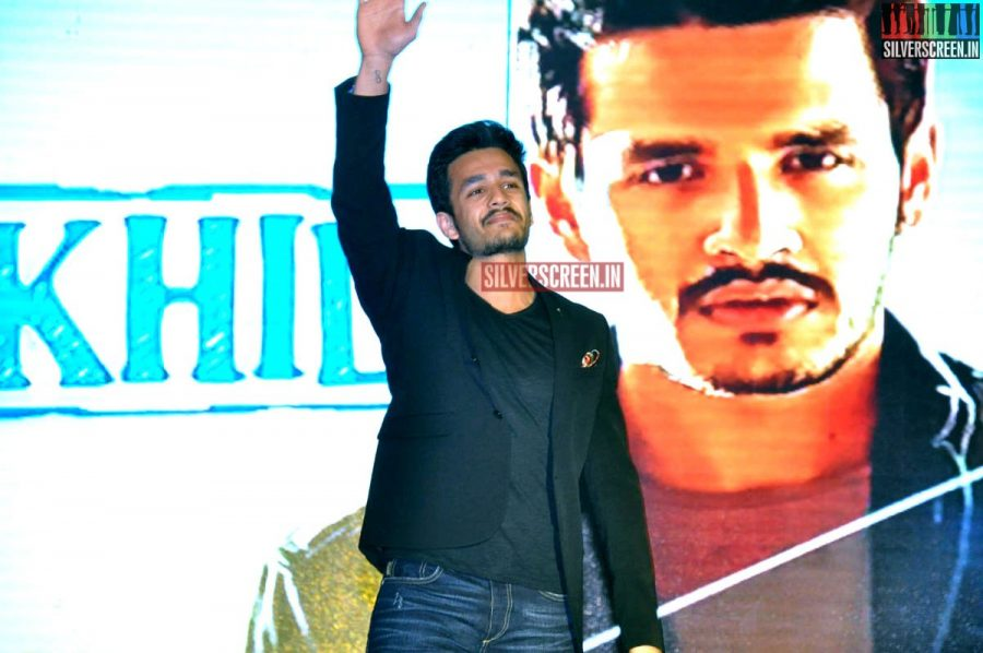 Actor Akhil Akkineni Debut Movie Launch