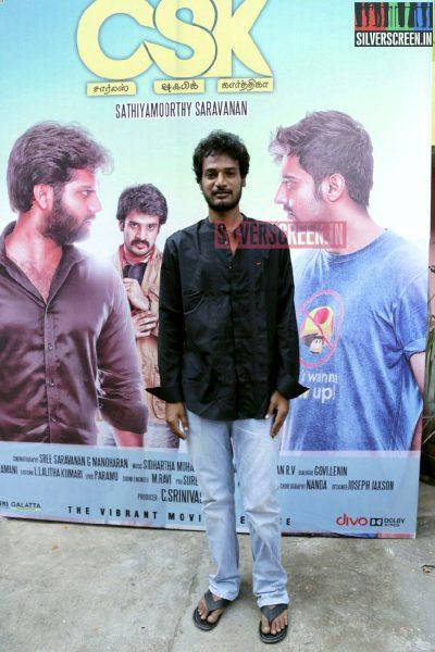Music Director Siddharth Mohan at Charles Shafiq Karthiga (CSK) Movie Audio Launch Photos