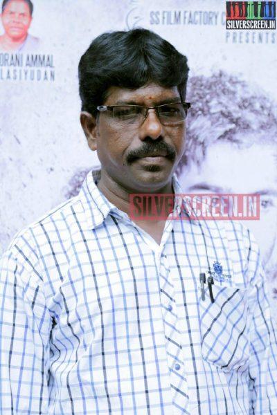 Producer C Srinivasan at Charles Shafiq Karthiga (CSK) Movie Audio Launch Photos