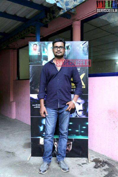 Director S Sathyamoorthy at Charles Shafiq Karthiga (CSK) Movie Audio Launch Photos