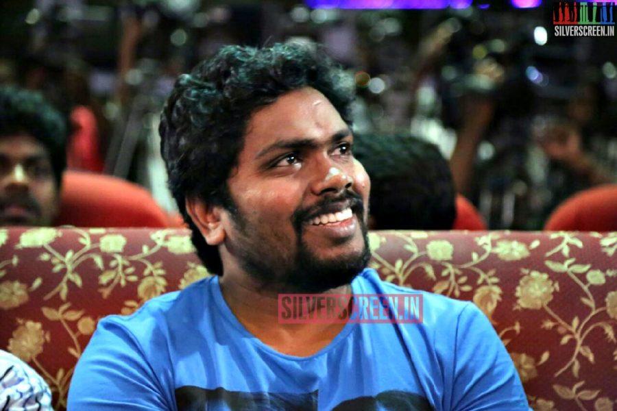 Actor Pa Ranjith at Charles Shafiq Karthiga (CSK) Movie Audio Launch Photos