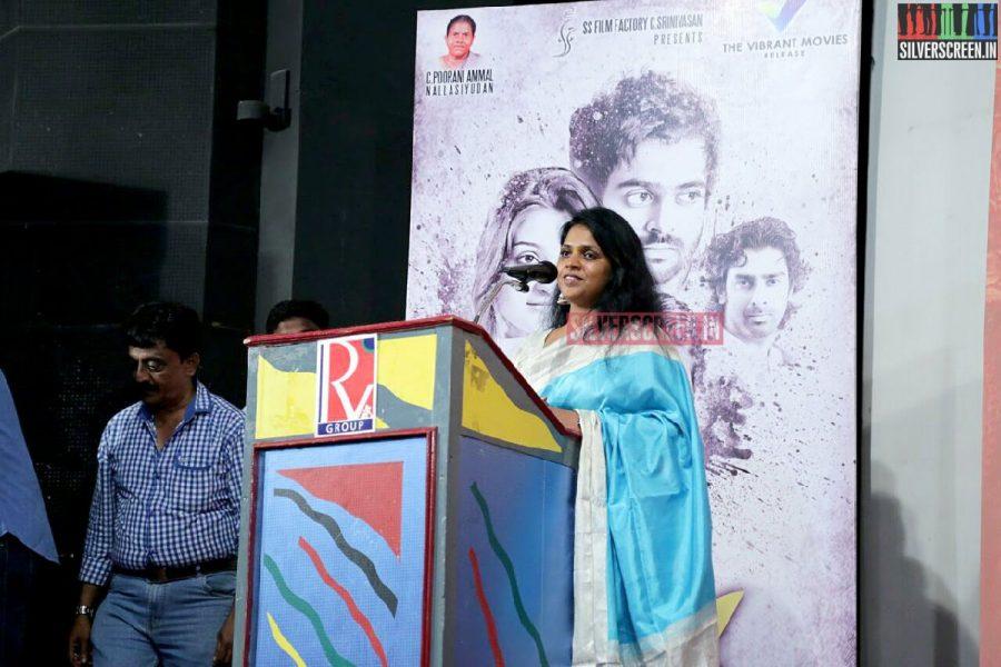 Costume Designer L Lalitha Kumari at Charles Shafiq Karthiga (CSK) Movie Audio Launch Photos