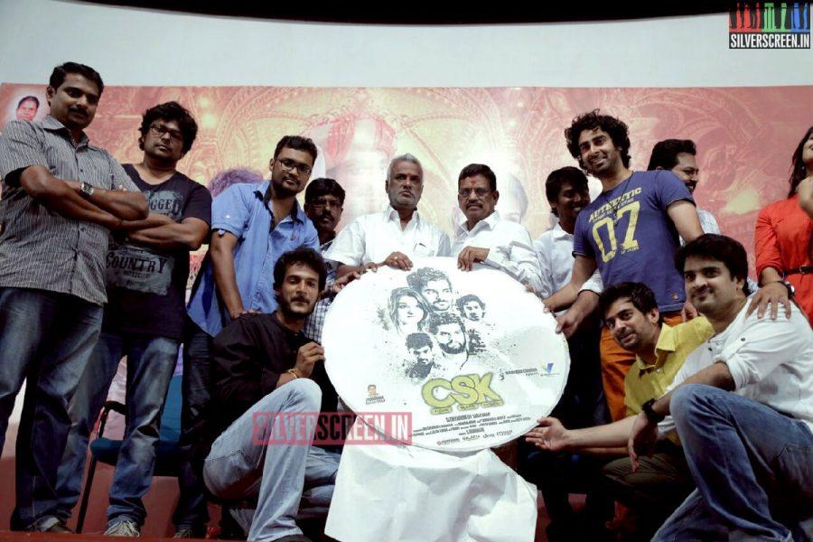 Charles Shafiq Karthiga (CSK) Movie Audio Launch Photos