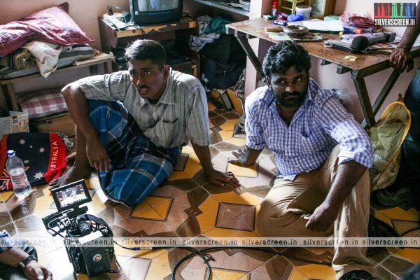 Enakkul Oruvan Working stills