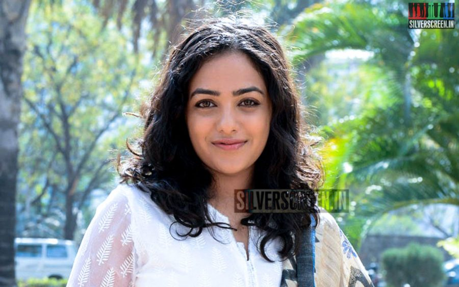 Nithya Menen at Malli Malli Idi Rani Roju Success Meet Photos