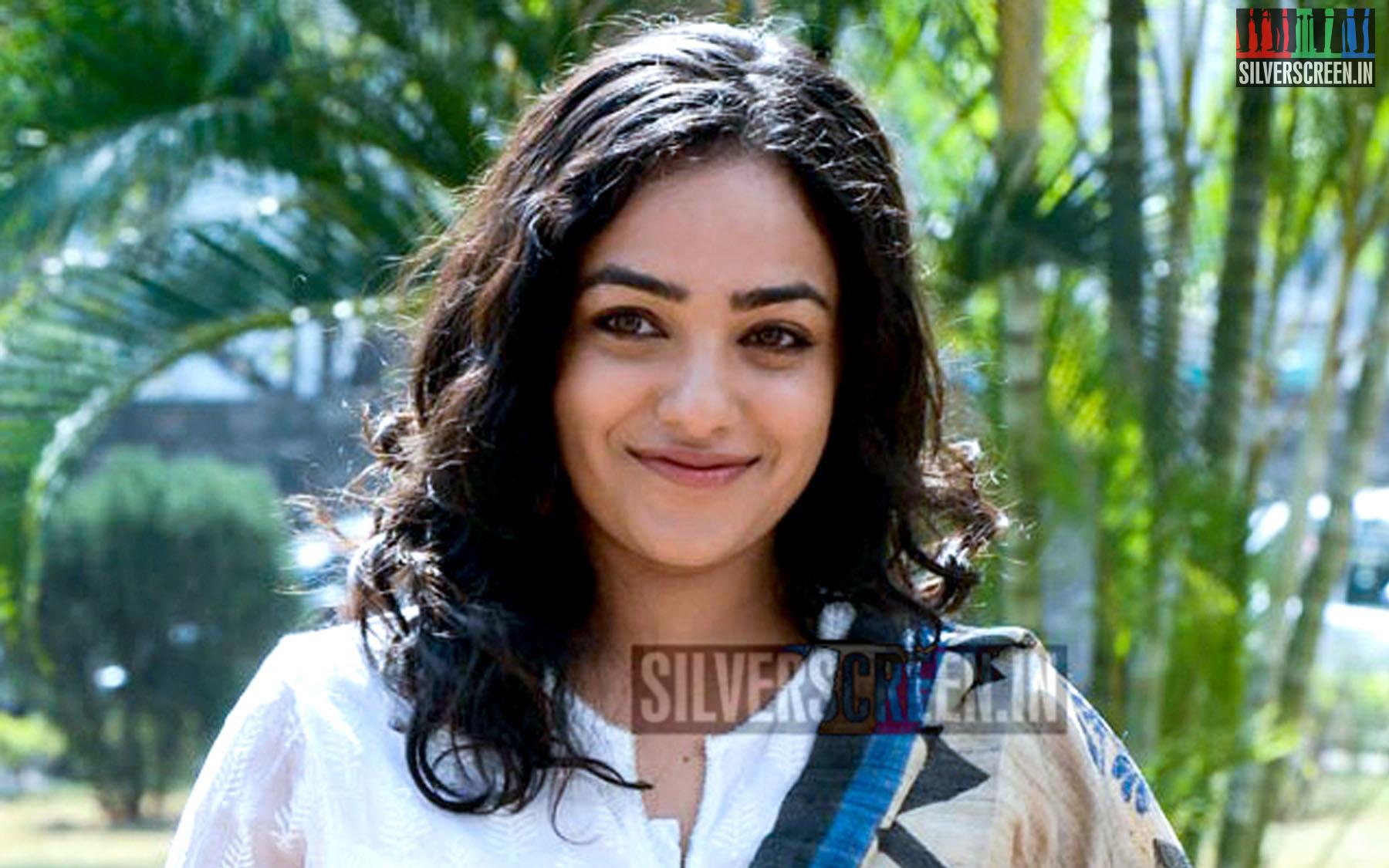 Nithya Menen at Malli Malli Idi Rani Roju Success Meet Photos