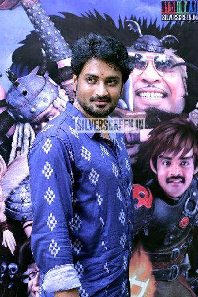 Actor Mirchi Senthil at the Romba Nallavan Da Nee Press Meet Photos