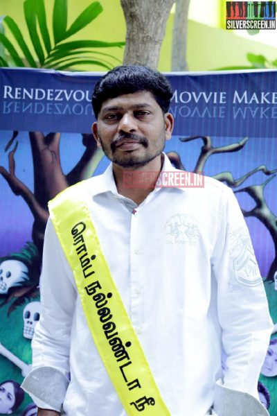 Lyricist Lalithanand at Romba Nallavan Da Nee Press Meet Photos