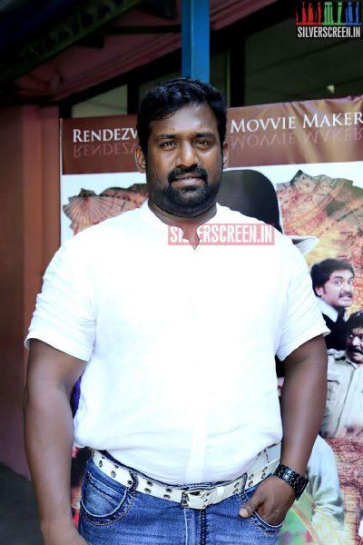 Comedian Robo Shankar at the Romba Nallavan Da Nee Press Meet Photos