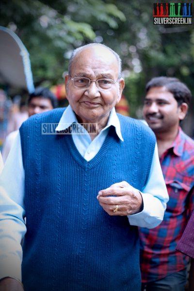 Director K Viswanath at Sankarabharanam Press Meet and Audio Launch