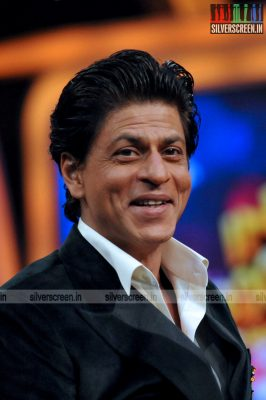 Shahrukh Khan at India Poochega Sabse Shaana Kaun Media Meet