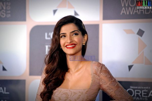 Sonam Kapoor at Loreal Launch Event Photos
