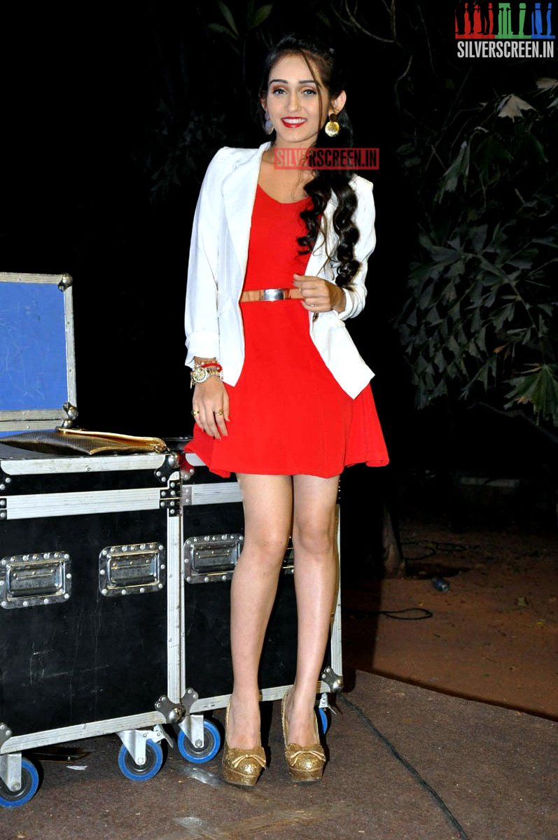 The News Review >> Tanya Sharma at Love States Audio Launch Photos ...