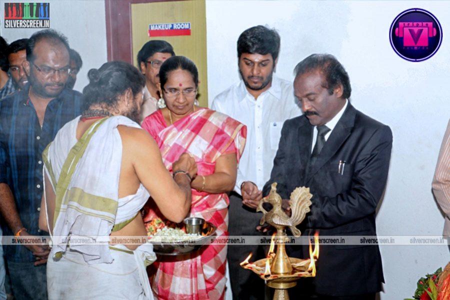 Achamindri Movie Launch Photos