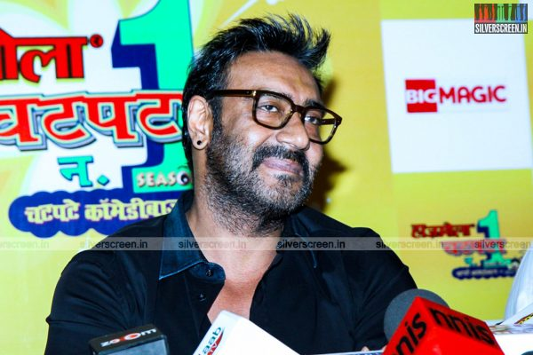 Ajay Devgan at Hajmola Chatpata No.1