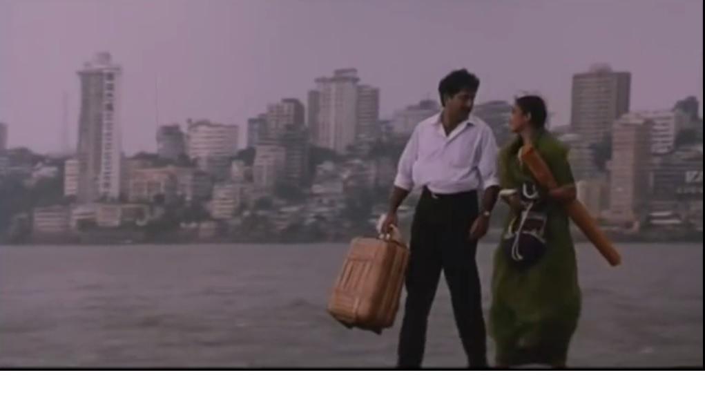 Arvind Swamy and Manisha in Bombay