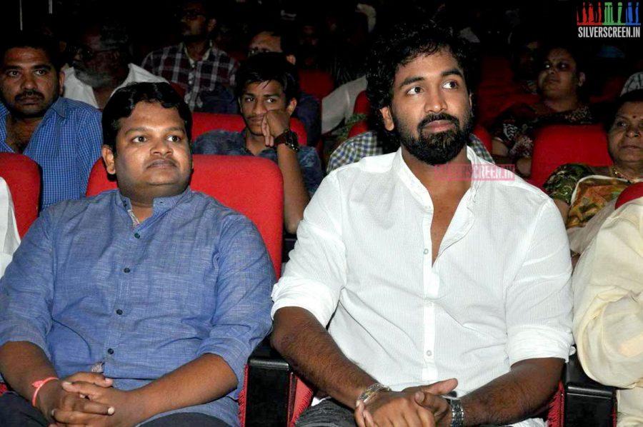 M Ghibran at the Uttama Villain Telugu Audio Launch Photos