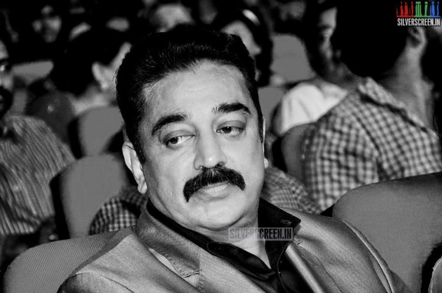 Kamal Haasan at the Uttama Villain Telugu Audio Launch Photos