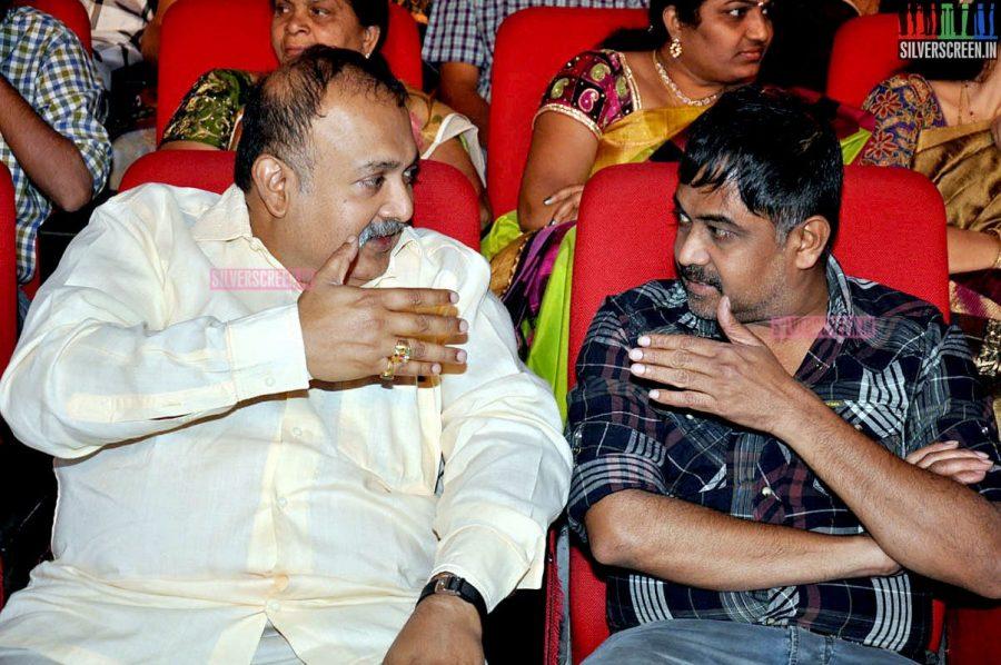 N Lingusamy at the Uttama Villain Telugu Audio Launch Photos