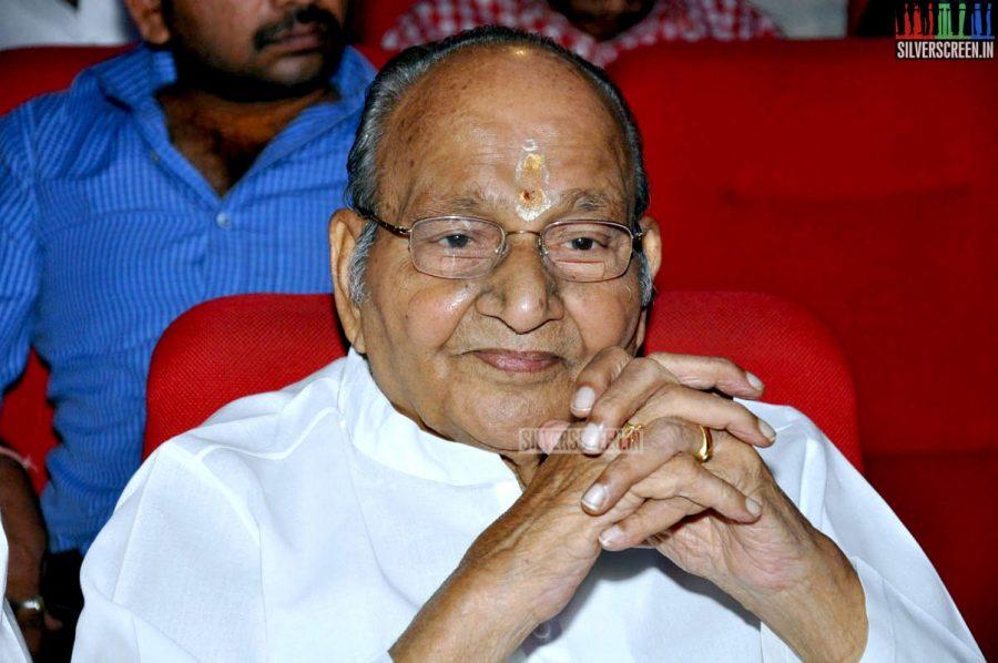 K Viswanathan at the Uttama Villain Telugu Audio Launch Photos