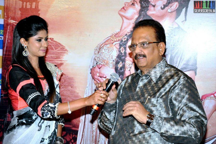 SP Balasubrahmanyam at the Uttama Villain Telugu Audio Launch Photos