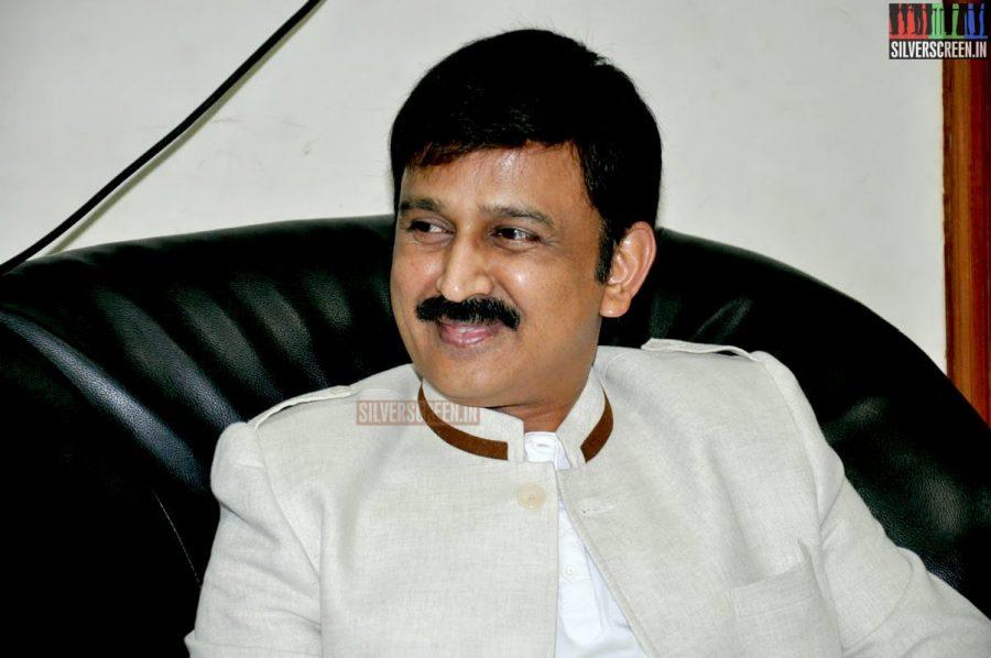 Ramesh Aravind and Gouthami at the Uttama Villain Telugu Audio Launch Photos