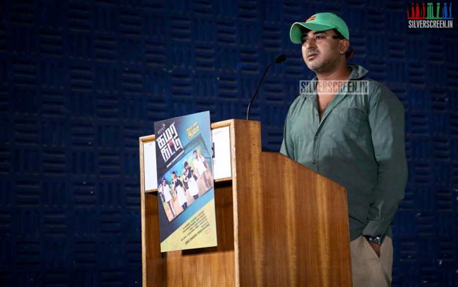 at Kamarkat Press Meet