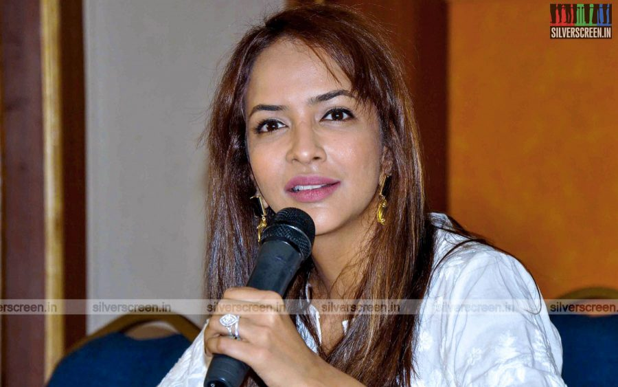Lakshmi Manchu at Chandamama Kathalu Press Meet
