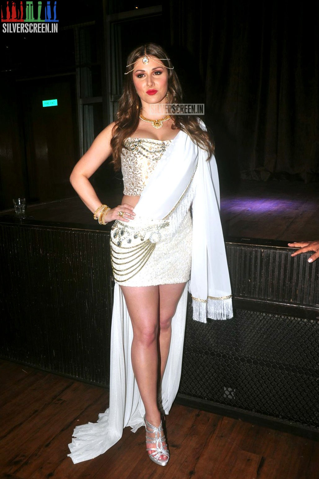 Lucy Pinder S Bollywood Movie Warrior Savitri Launch