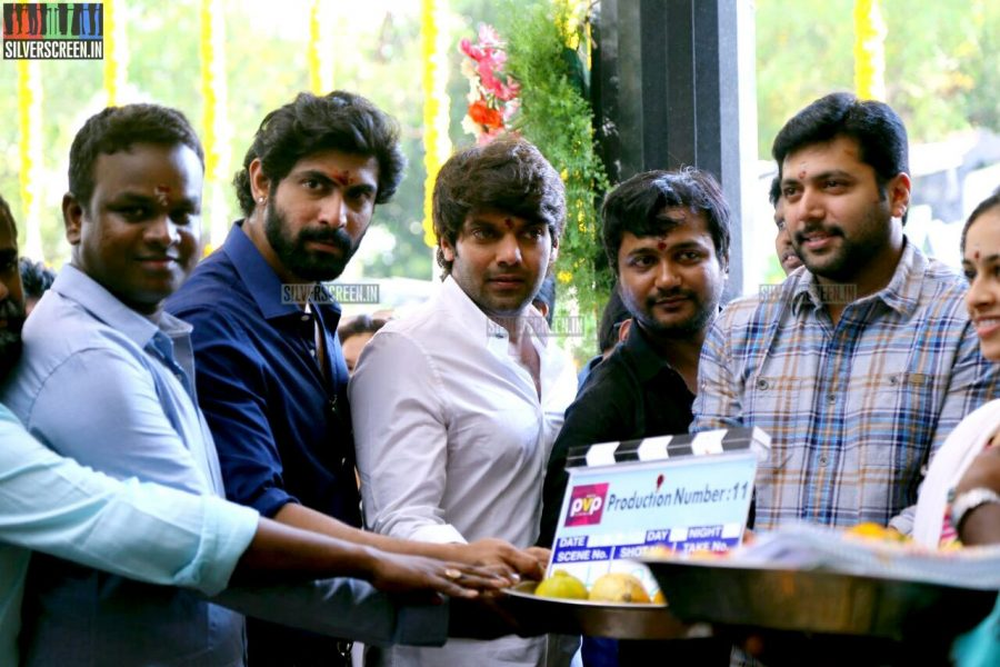 at PVP Production No 11 Movie Launch