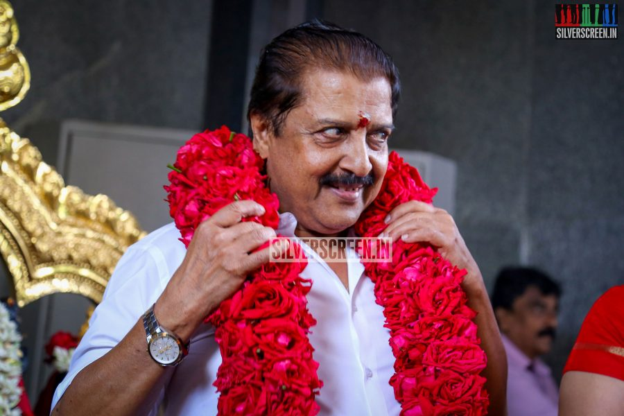 Actor Sivakumar at PVP Production No 9 Pooja Photos