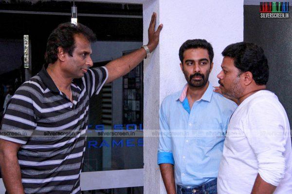 at Rajathandhiram Movie Premiere Show