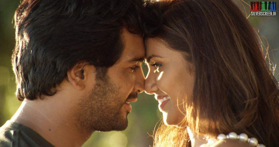 Actor Vinay Rai and Actress Madhurima in Serndhu Polama Movie Stills