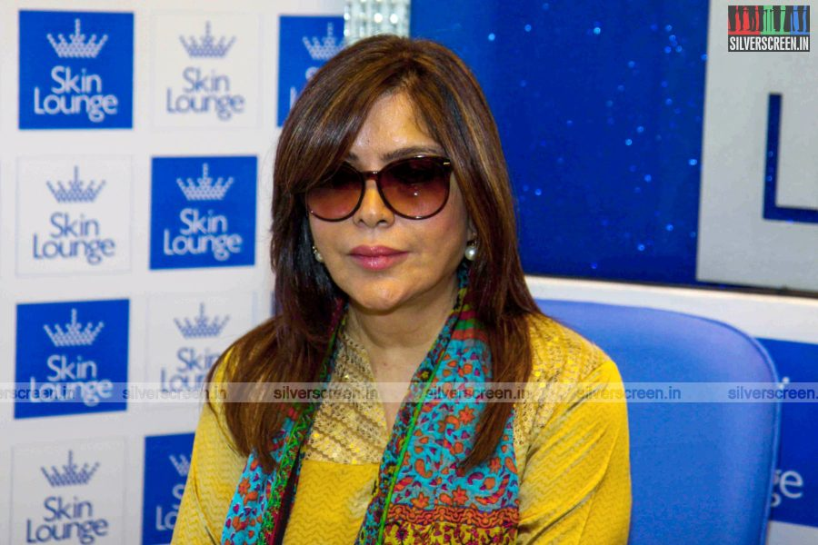 Zeenat Aman Launches Dr Simple Aher's Skin Lounge Clinic