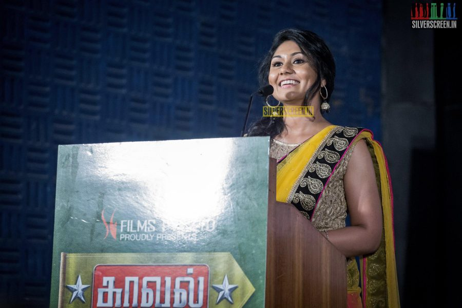 at Kaaval Trailer Launch